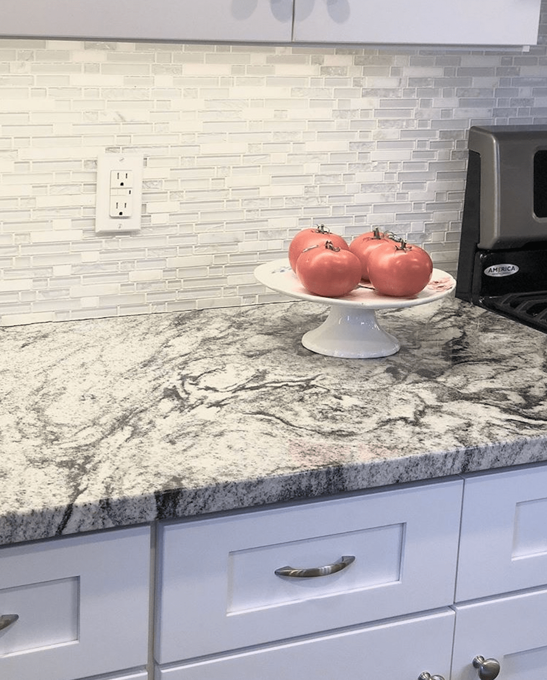 Bergen Granite & Marble - Viscon White Granite