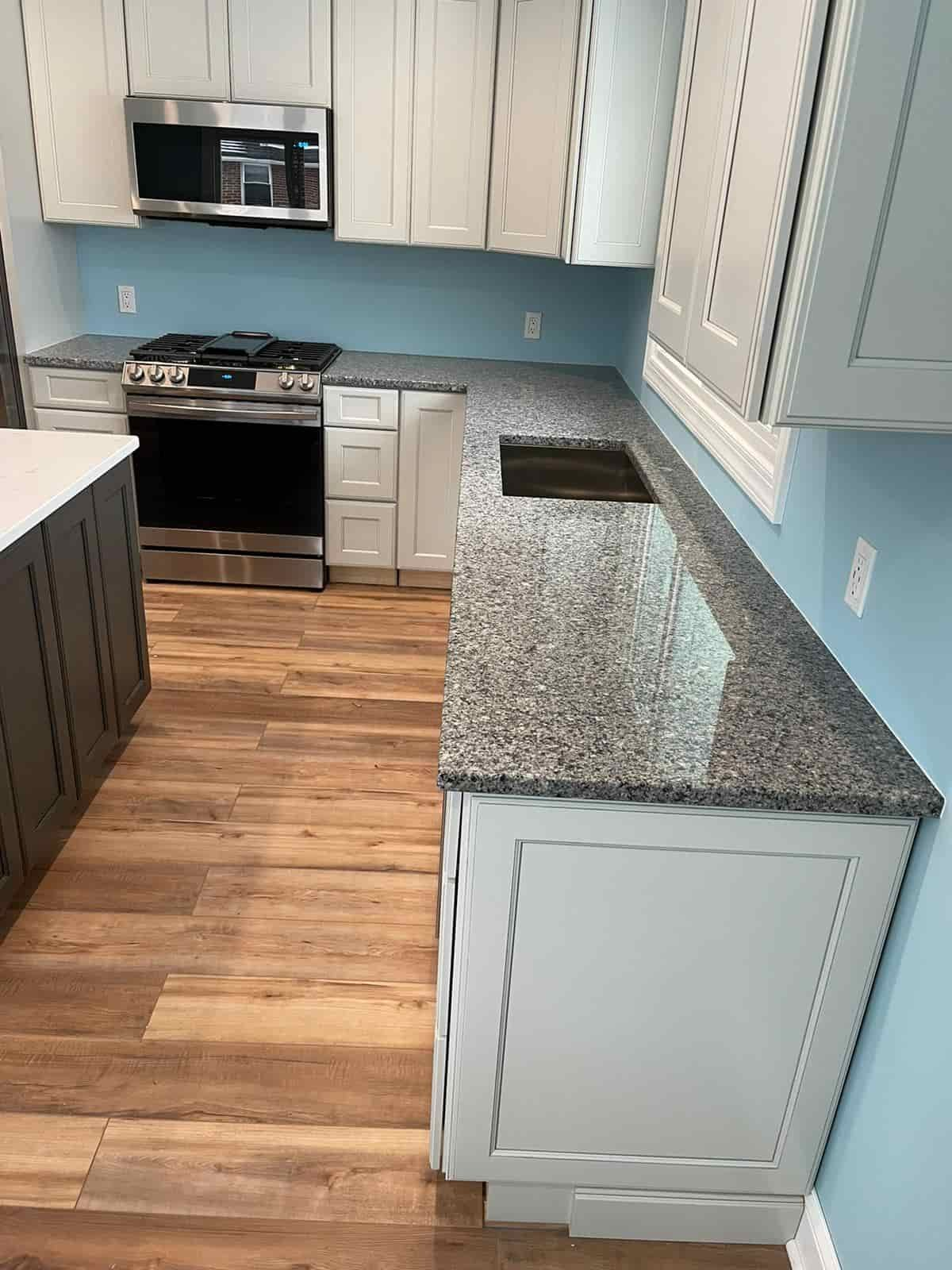 Invest in cabinets and countertops