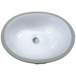 Porcelain Sink 6003-1714W