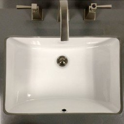 Porcelain Sink 6001-1814W