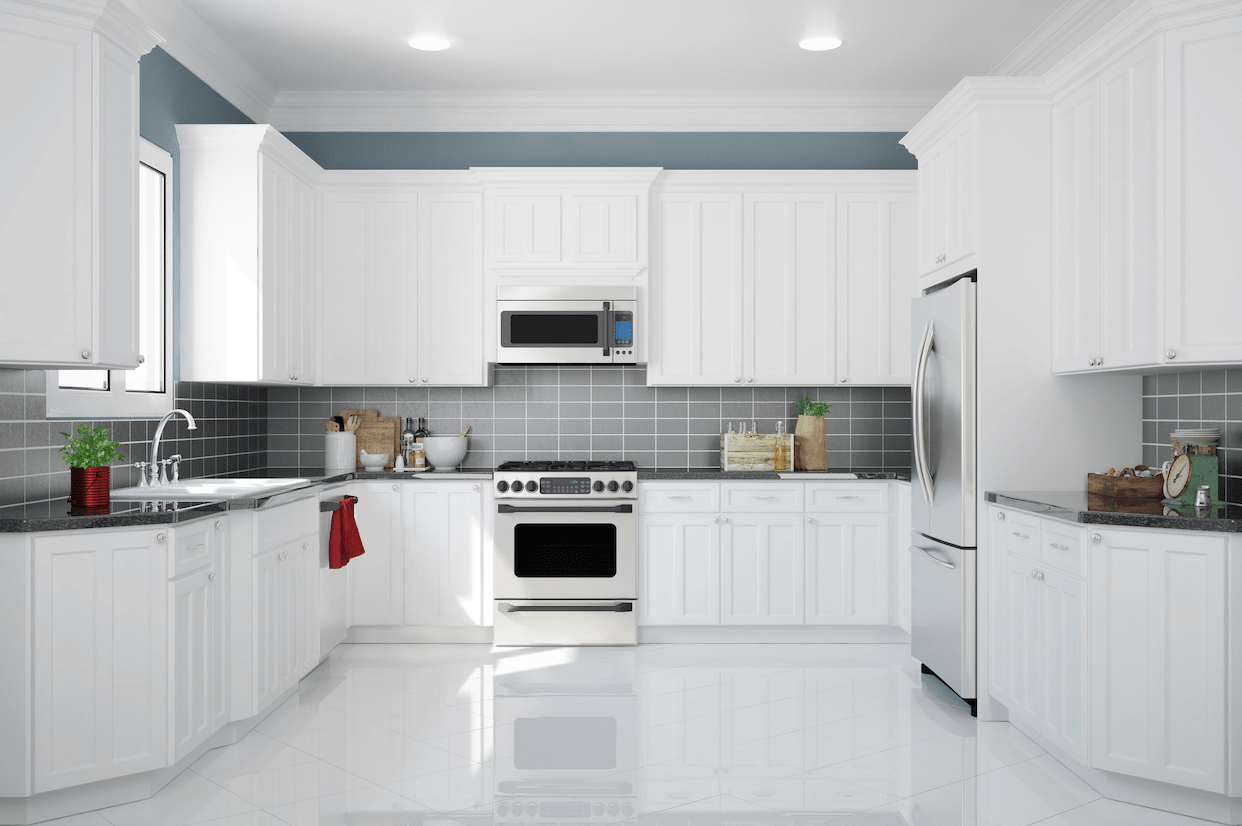 White Kitchen Cabinets The Ideas From Bright White To Creamy White