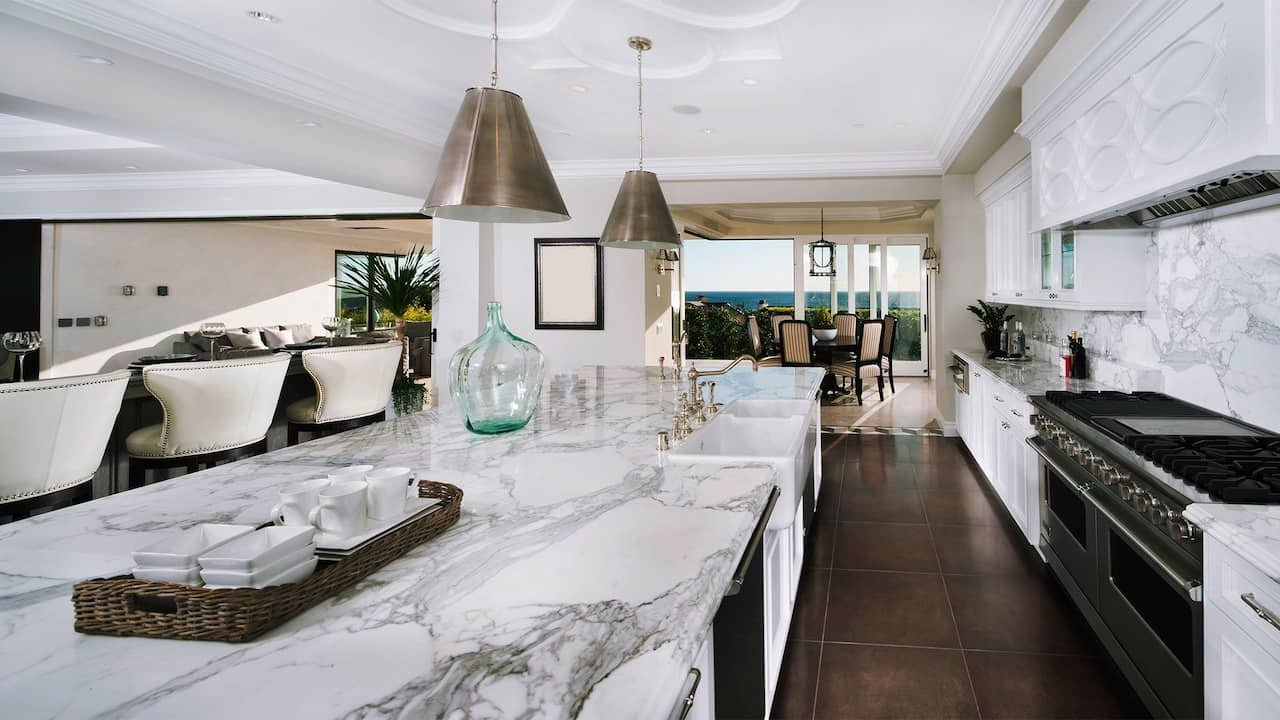 Marble and Granite Countertop Ideas for Fall