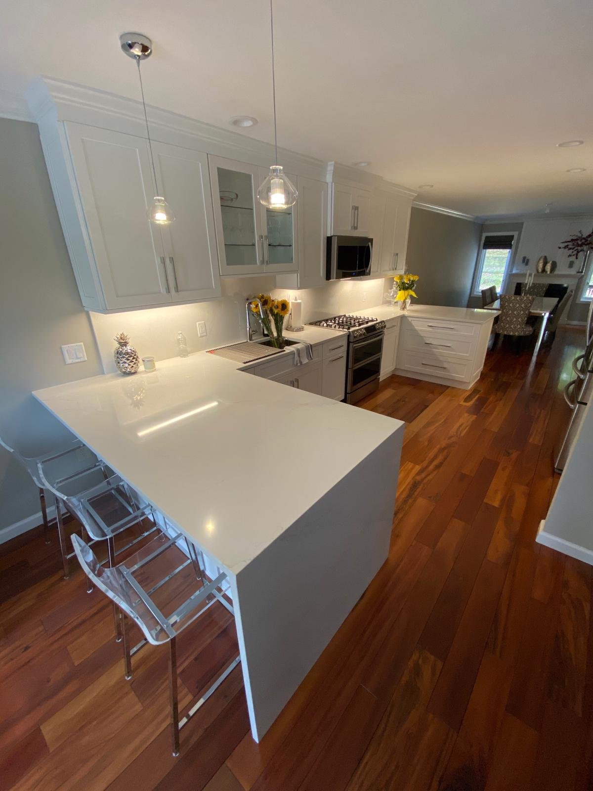 White Shaker Cabinets